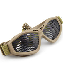 BV Tactical Shooting Goggles BANT (FAST Helmet Adapted Version) Tan