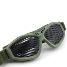 Wo Sport Large Mesh Airsoft Goggles in Olive Drab