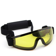 WoSport Adjustable Tactical Goggles in Yellow