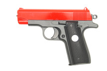 Galaxy G2 metal hand bb gun in Red