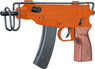 Double Eagle M37F VZ-61 BB gun with Metal folding stock in Red