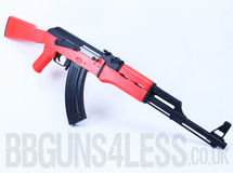 Bulldog AEG Pro ak47 Replica fully auto in Two Tone orange