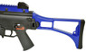 cyma cm011 airsoft electric rifle with folding stock in Blue/Black