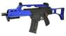 cyma cm011 airsoft electric rifle in Blue/Black