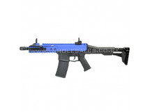 GHK G5 GBBR Carbine Airsoft Rifle in blue