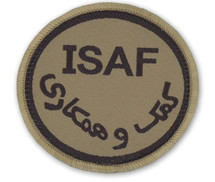 VELCRO ISAF PATCH