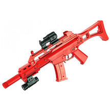 Blue Sky X G36A bb gun with removable stock in red