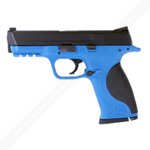 WE Big Bird M&P GBB Pistol in Blue