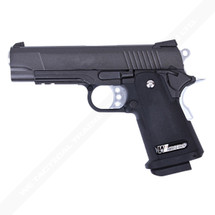 WE 4.3 Hi-Capa S Version Full Metal GBB in Black