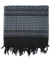 Shemagh - Black & Grey