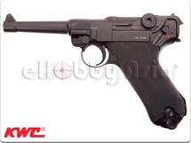 KWC P08 Full Metal Co2 4 inch Version in Black