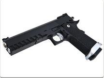KJ Works HI-CAPA 5.1 Gas Pistol in Black