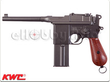 KWC M712 Full Metal CO2 Blow Back Pistol in Black