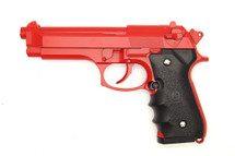 Dragon M9 gas blowback pistol in Red