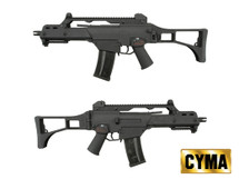 BROKEN//FAULTY-Cyma CM011 HK G39 Airsoft Gun Metal in Black/blue