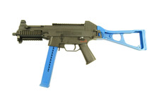 Umarex H&K UMP 45 Electric rifle in Blue with hi-cap magazine