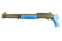 KOER Pump Action Shotgun in Blue