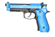 HFC HG-190 Gas GBB Airsoft Pistol in Blue