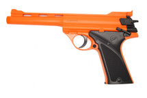 Double Eagle M28 Luger MKI Spring Pistol in Orange