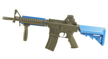Lancer Tactical Electric Rifle in Blue/Black