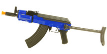 Double Eagle M901C AK47 with Metal foldable stock in Blue