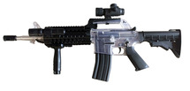 Blackviper B73 M4 BBGun Rifle in CLEAR