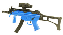 Well D97 Electric bb gun with mock scope in Blue