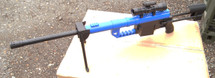 BROKEN//FAULTY-Galaxy G35 M200 Spring Powered Sniper Rifle in Blue