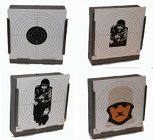 Mixed Pack of Paper Refill Targets For Trap Target 14CM x 100pc