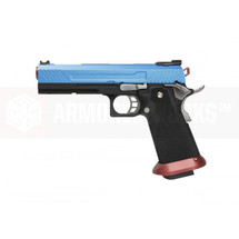 Armorer Works Custom Hi-Capa Blue Slide  Red Barrel