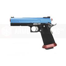 Armorer Works Custom Hi-Capa Blue Slide  Red Barrel