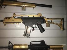 Cyma CM011 HK G36C Airsoft Gun Metal in Gold