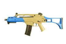 Ares AR-056 Airsoft Rifle in Tan/Blue