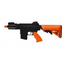 AGM 039 full Metal Electric Rifle in Orange/Black