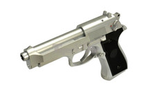 Cyma CM126 Electric Airsoft Pistol AEP in Silver
