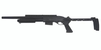 A&k M7870 Full Metal Tactical Pump Action Shotgun in black