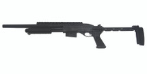 A&k M7870 Full Metal Tactical Pump Action Shotgun in black
