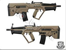 S&T T21 Blowback system Aeg in Tan