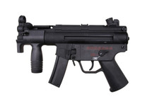 Cyma CM041K SMG with mid-cap magazine in Black