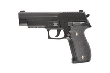 Galaxy G26 P226 Full Scale Metal pistol With Rail in Black