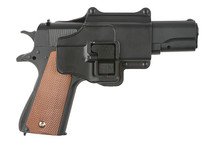 Galaxy G13H M1911 Metal Pistol with Holster in Black