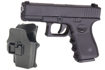 Galaxy G15H Full Metal Pistol with Holster in Black