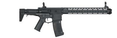 Ares Amoeba BB Gun with Keymod Handguard in black