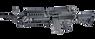 Classic Army MK46 SPW AEG in Black