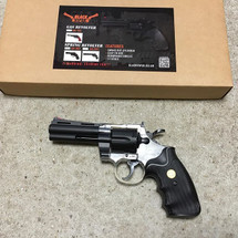 Blackviper Spring Revolver with Mid Size Barrel in Black