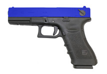 WE EU18 GEN 4 BLACK PISTOL IN BLUE