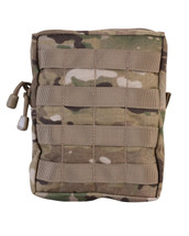 kombat Large MOLLE Utility Pouch in Multicam