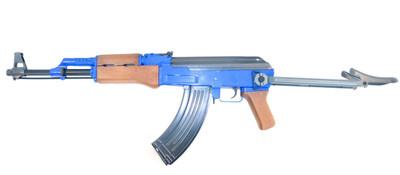 Cyma P1093-S AK-47 bb gun rifle in Blue