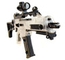 BlackViper G36 Electric Rifle with adjustable rear sight in white