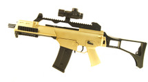BlackViper G36 Electric Rifle with Folding Stock in Gold